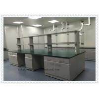 Customized Chemistry Lab Furniture / Laboratory Working Table With Water Cabinet Manufactures