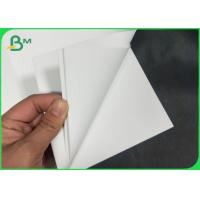 Buy cheap White PET Synthetic Paper In Sheet In Rolls Smooth & Durable For Tags & Labels from wholesalers