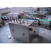 China Automatic Self Adhesive Cold Wet Glue Labeling Machine for Juice / Wine Bottle on sale