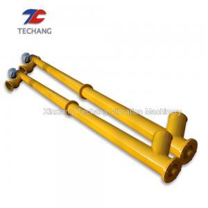 Professional Grain Screw Conveyor , Dry Mixed Mortar Tube Screw Conveyor Manufactures