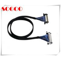 China Customized Lvds Display Cable JAE 41Pin 51Pin / Micro Coaxial Lvds Cable Assembly on sale