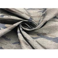 Breathable Jacquard Polyester Spandex Fabric 138 GSM Weight 57 / 58 '' Width Manufactures