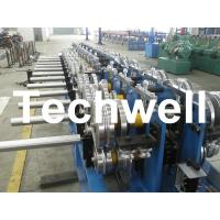 China Standing Seam Roofing Roll Forming Machine With Hydrualic Cutting TW-STM400 on sale