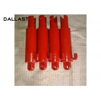 Single Piston Type Hydraulic Cylinder OEM Chrome Small Bore Hollow Manufactures