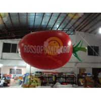 Quality Chiristmas Decoration Inflatable Helium Balloon Attractive Big Apple for sale