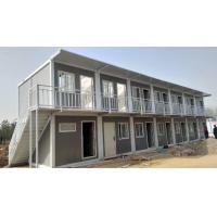 Reusable Flat Pack Premade Container Homes Welded Grade 9 Earthquake Resistance Manufactures