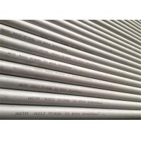 China A312 TP304L Stainless Steel Seamless Pipe 33.4X4.3x6000 Mm White Pickling on sale