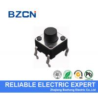 12 V Voltage Momentary Tactile Push Button Switch Reflow Solderable 4 Pin DIP Type Manufactures