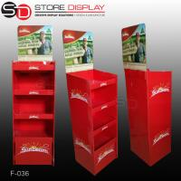 point of sale offset printing tea display stand Manufactures