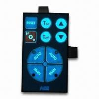EL Backlighting Membrane Switch with 12 to 220V Voltages and -40 to 85°C Temperatures Manufactures