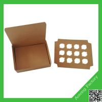 Brown kraft paper cake box for bakery Manufactures