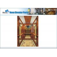 Safe and Stable Passenger Elevators , Gearless Machine-room Elevator Manufactures