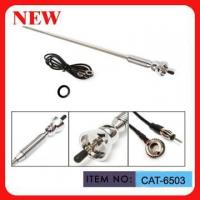 Three Section AM FM Car Antenna , Exterior Roof Mount Car Antenna Manufactures