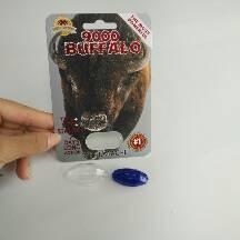 China Custom Printed Blister Card Packaging Big Boy / Rhino Mamba For Capsule / Diamond Shape Container on sale