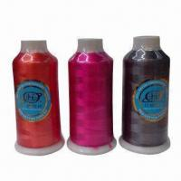 100% Rayon Embroidery Thread with 600D/1, 150D/1, 250D/1 Types Manufactures