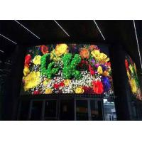 Quality P4.81mm Full Color Flexible LED Panel Video Wall P4.81 Curved LED Display Screen for sale