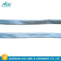 Customized Webbing Polyester Woven Tape Flat For Garment / Bags Manufactures