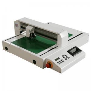 Advertisement Digital Paper Cutting Machine Mini Flatbed Die Cutter Manufactures
