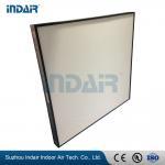 Alumiunm Frame Clean Room HEPA Filters , Mini Pleat HEPA Filter With HV Fiberglass Manufactures