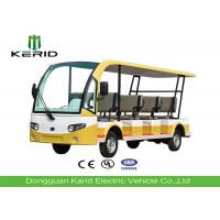 Multi Color 11 Seater Electric Sightseeing Car Multiple Purpose CE Certificated Manufactures