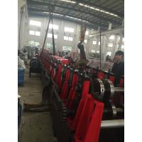 China 3mm Thickness Material Q195-235 CZ Purlin Roll Forming Machine With 18 Forming Roller Stations Steel Construction Area on sale