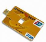 Credit Card USB 2.0 Flash Drive Manufactures
