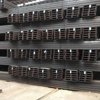 Channel Steel Sizes/JIS standard Hot Rolled 100*50*5.0 mm U type Channel Steel black Manufactures