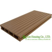 Wood Plastic Composite Flooring, Outdoor WPC decking For Balcony, Easy Installation and Environmental Friendly Manufactures