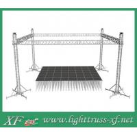 Quality 500mm x 500mm Iron Base Caster Truss Coupler For Aluminum Roof Truss for sale