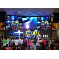 Stage Background Led Display  , Led Large Screen Display With SILU Class A Manufactures