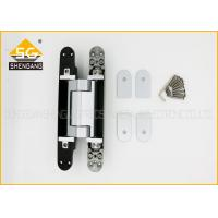Hidden Gate Adjustable Door Hinge , Heavy Duty Gate Hinge 180 Degree Manufactures