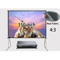 Foldable Rear Projection Screens 7112 x 5334mm With Portable Storage Case Manufactures