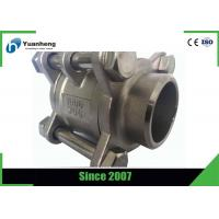 Butt Weld End 1000PSI 3PC Ball Valve Stainless Steel 316 Material Manufactures