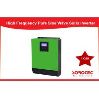 China MPPT High Frequency Solar Power Inverters , Pure Sine Wave power grid inverter 2KVA 1600w 24v on sale