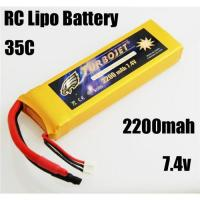 7.4v 2200mah RC Rechargeable lipo battery for RC helicopter,RC car,rc airplane Manufactures