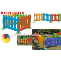 Happy Island Playground Kids Toys Of Children Plastic Fence 4 Color Available Manufactures