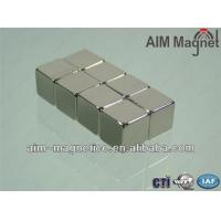 China Sintered Permanent Neodymium Magnetic Cube on sale
