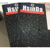 Black wrinkle epoxy resin metal surface indoor powder coating Manufactures