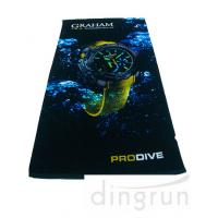 Personalized Bright Color Custom Printed Beach Towels With Digital Full Printing Craft Manufactures