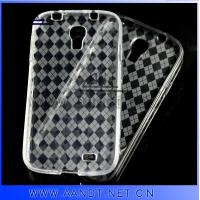 2013 Clear soft TPU case for Samsung Galaxy S4 Manufactures