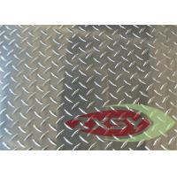 Construction Silver Aluminum Tread Plate 5052 6061 In Diamond Pattern Manufactures
