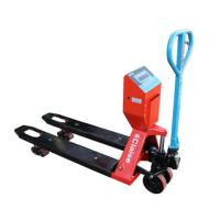 China 2000lb Hand Pallet Jack Weight Scale Heavy Duty 4000lb 6000lb Wear - Resistant on sale