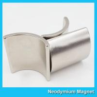 China Permanent N35-N52 Neodymium Arc Magnets Free Energy For Generator And Motor on sale