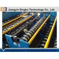 China Aluminum Sheet Roof Panel Roll Forming Machine Hydraulic Cutting on sale