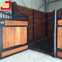 Longlife JH Brand Horse Stable Box Horse Stall Fronts Doors With Bamboo Wood Manufactures