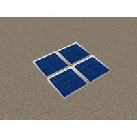 Solar Wooden Garden Floor Tile with LED Manufactures