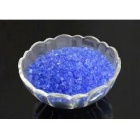 Industrial  Blue Indicating Silica Gel Good Thermal Stability Anti - Moisture Manufactures