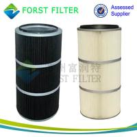 China FORST Manufacture Polyester Pleated Filter Dust Cleaning Air Filter for Cement Industry on sale