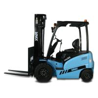 China Warehouse Fork Lift Truck Mini 2.5ton Electric Forklift 2098 * 2353 * 1170mm on sale