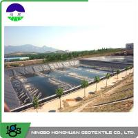 3.00mm Flexible HDPE Geomembrane Liner For Wastewater Treatment Plant Manufactures